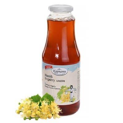 Напиток из цветков липы 1 л