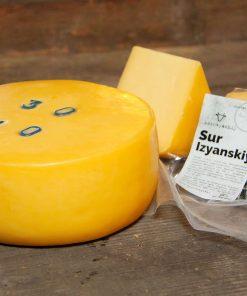 Сыр твёрдый «Изянский» из коровьего молока