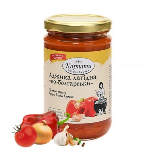 Аджика лагідна «По-болгарськи»