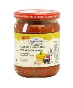 Аджика с чесноком «По-украински»