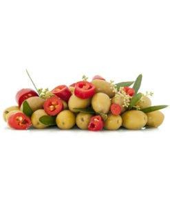 Оливки Morabito Verdi Caserecce с косточкой